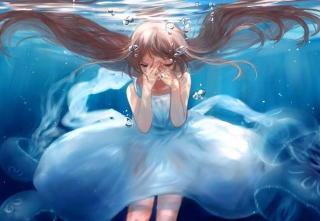 Crying Under Water - Akira & Anime Background Wallpapers on Desktop Nexus  (Image 1220268)