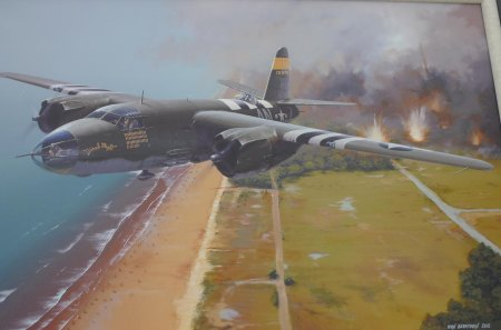 B 26 Marauder - world war two, medium bomber, b 26 marauder, second world war, usaaf, martin
