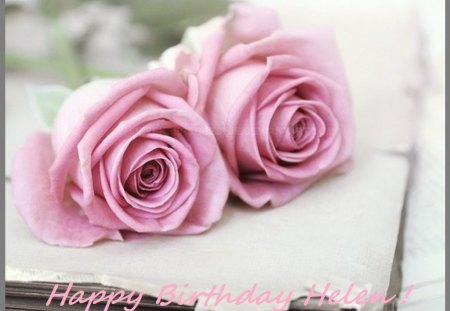 ♥♫ Happy Birthday Helen (caramelie) ♥♫