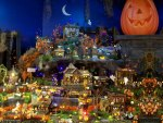 A Halloween Village