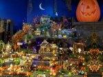 A Halloween Village