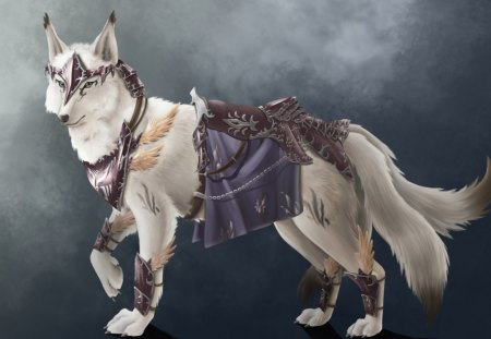White Wolf Other Anime Background Wallpapers On Desktop Nexus Image 1222511
