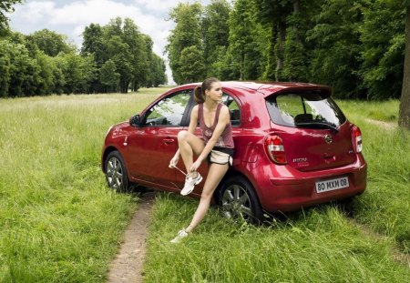 Nissan Micra Elle Nissan Cars Background Wallpapers On