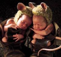 two human mice