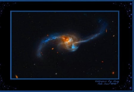 Merging Galaxies 1200x800 - galaxies, stars, outerspace, space