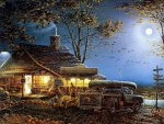 Terry Redlin. Autumn Traditions