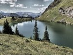 *** Lake in the mountains ***