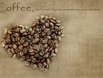 *** Heart of coffee beans ***