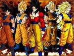 Goku all saiyan forms