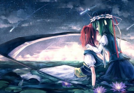 Touhou Project - reaper, vg, anime, komachi onozuka, video game, touhou project