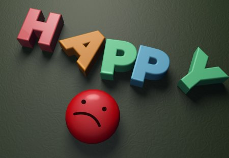 Happy - cinema 4d, 3d, cg, happy