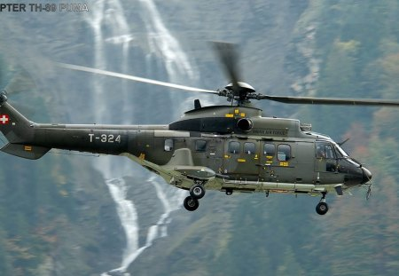 Eurocopter - super, r th89, helicopter, puma, eurocopte