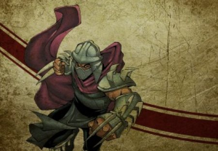 ninja turtles shredder - turtles, shredder, wallpaper, ninja
