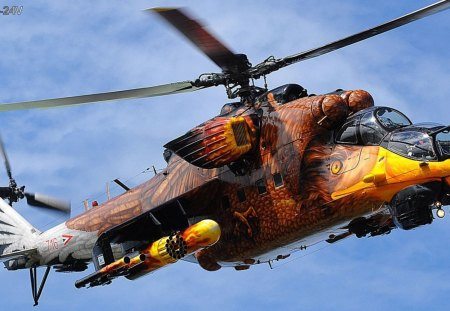 Mil-MI-24 - mil, mi24, hungray, helicopter