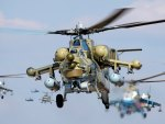 Russian MI 28 helicopter