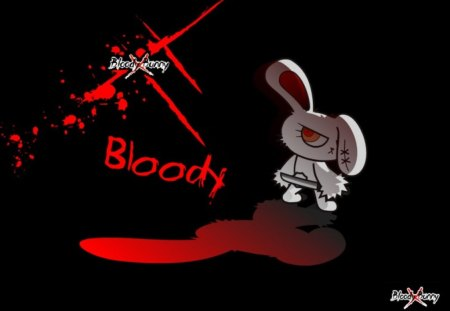 Bloody Bunny Fantasy Abstract Background Wallpapers On Desktop