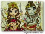 durga shakti and lord shiva