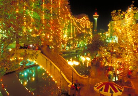 Riverwalk San Antonio Christmas.San Antonio Riverwalk At Christmas Other Nature