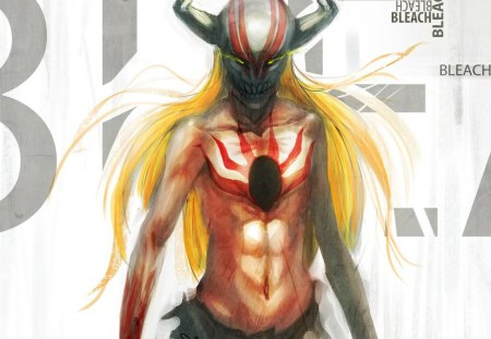 The Hollow - bleach, zanpaktou, ginger, manga, hollow, kurosaki ichigo, vizard, anime, mask