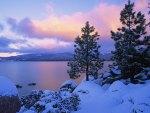 Colores de invierno, Lake Tahoe