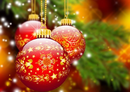 Christmas balls photography abstract background for Christmas decoration things