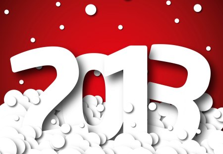 2013 - red, pretty, holidays, beautiful, magic, xmas, 2013, beauty, magic christams, lovely, holiday, christmas, new year, happy new year, snow, snowflakes, white