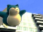 Snorlax is free, free falling