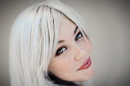 Devon Jade - white, hair, lips, devon jade, eyes