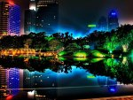 'Brilliantly night at Singapore'