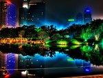'Brilliantly night at Singapore'