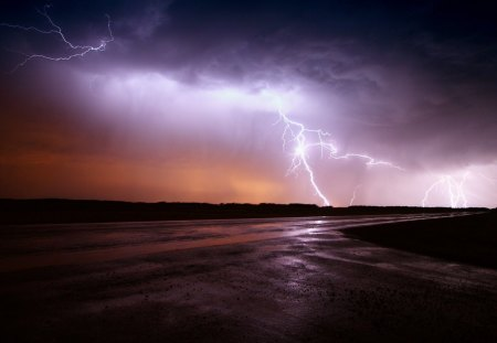 awesome lightning in dark sky forces of nature amp nature