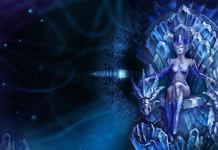 Ice Queen Fantasy Art