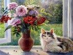 Vorobyov Olga. Mild early autumn sun