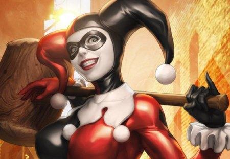 Harley-Quinn - villain, joker, harley, quinn