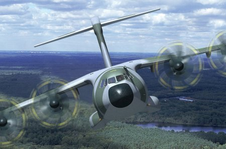 c130 hercules over a forest - forest, plane, turbo prop, transport, crew
