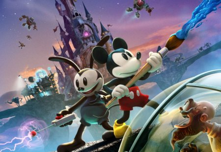 Epic Mickey 2 - mickey, epic mickey 2, disney, game, junction point, xbox 360, wii, epic mickey, ps3, warren spector