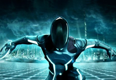 Tron Evolution - disc, movies, tron legacy, grid