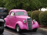 1935 ford coupe pink
