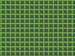 8Bit Rock Pattern Green Background
