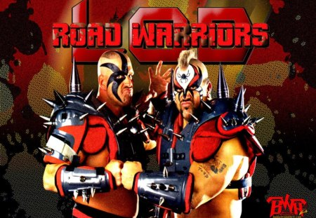 The Road Warriors L.O.D. - wwf, legion, wwe, lod, animal, doom, warriors, wcw, awa, hawk, nwa, road