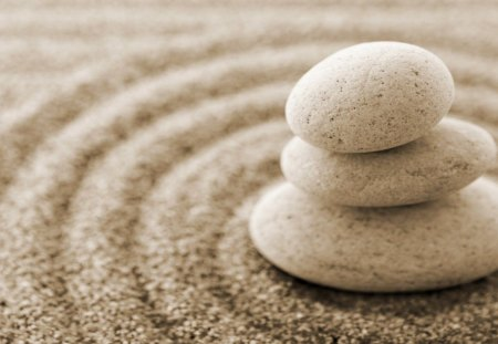 Stonesands - hd, zen, spa stones, zen stones, abstract, photography, stones, wallpaper, spa, harmony