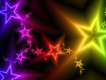 ♥Colorful Stars in Christmas♥