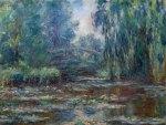 Claude Monet - Bridge over Water Lily Pond