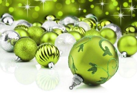 green silver christmas balls balls green christmas decorations silver - Green And Silver Christmas Decorations