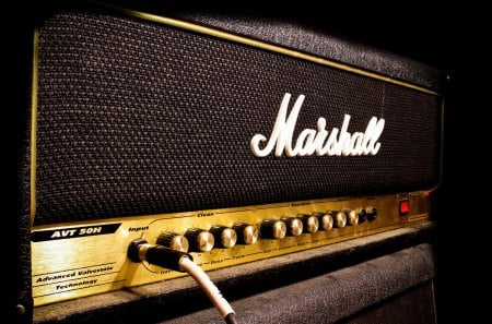 Marshall Amp - entertainment, amp, marshall, music