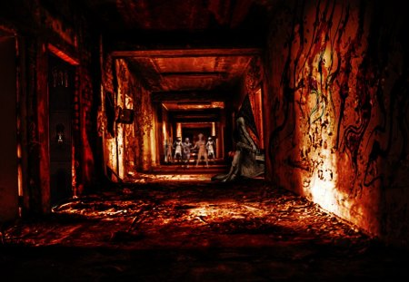 silent hill - scary, horror, silent hill, dark