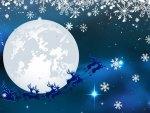 Santa Blue Sky