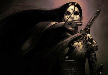 Fantasy Shadow Sword Art