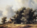 Salomon van Ruysdael - Road in the Dunes