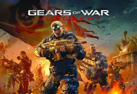 Gears of War Judgment 2013 - ps3, gears of war, epic game, video games, microsoft, xbx360